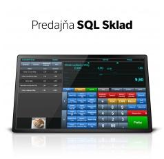 Predajňa SQL Sklad