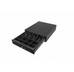 Peňažná zásuvka CD-880 K 24V + prep. kabel - čierna